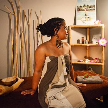 Modelage tonifiant et relaxant signé Baija Chez Nomade Spa et Beauté à Brest