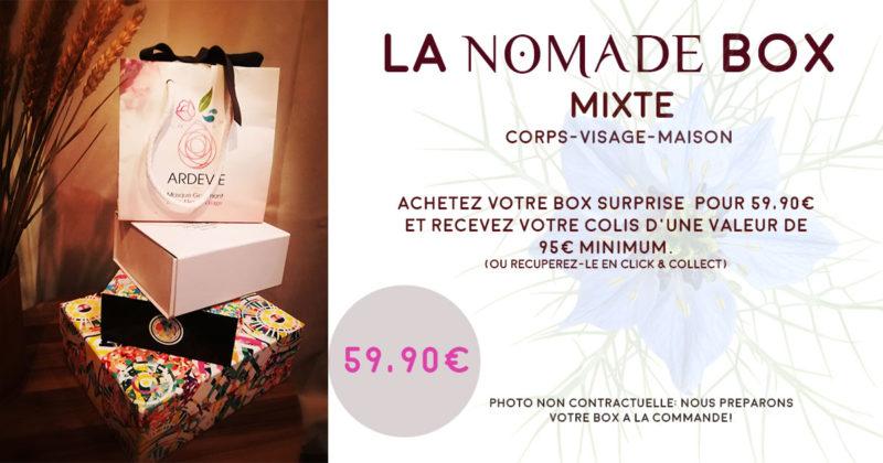 la box mixte de Nomade Spa et Beauté