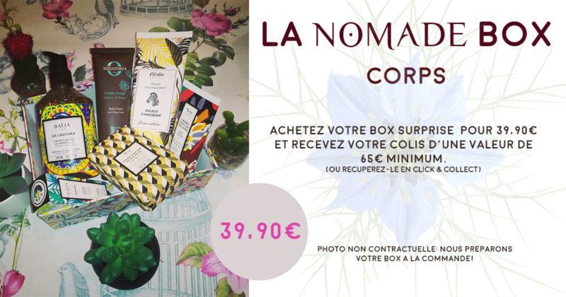 la box corps de Nomade Spa et Beauté